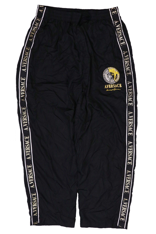 versace pants black vintage 90s