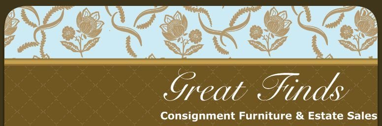 Great Finds In Overland Park, KS. Consignment Furniture And Estate Sales.