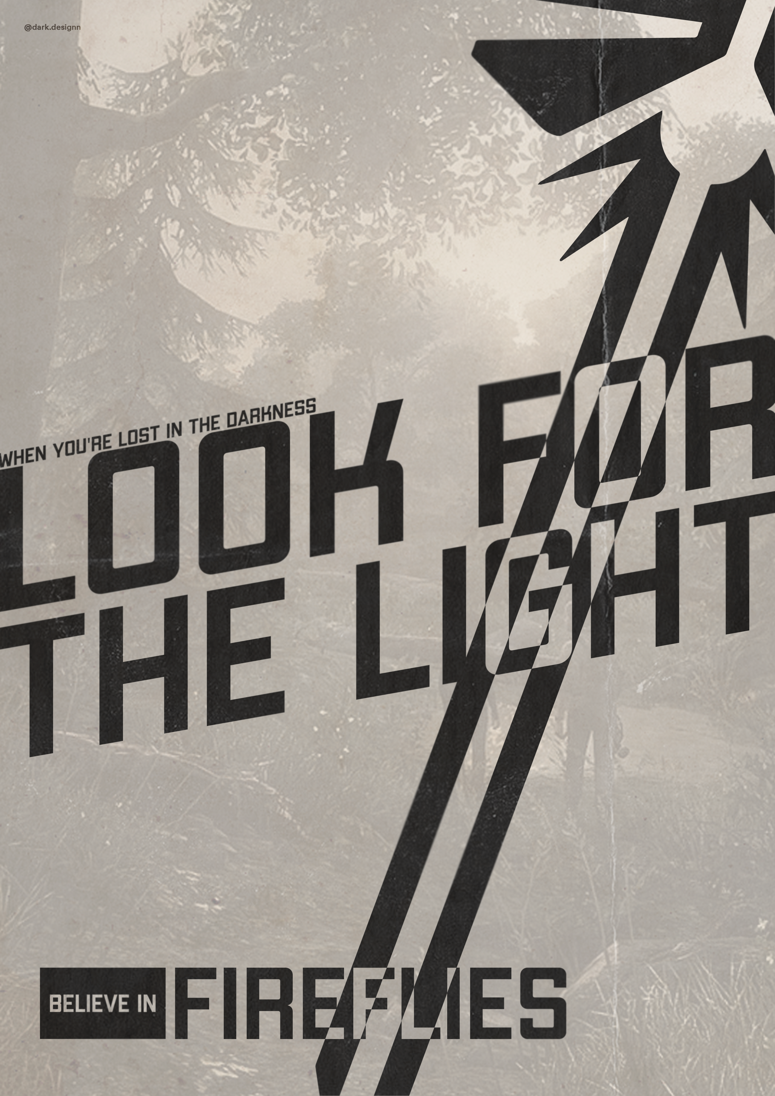 A Poster I Did After Playing The Last Of Us Logo Designer Graphic Inspirational Inspirationalquotes Graphicdesi The Last Of Us Logos The North Face Logo