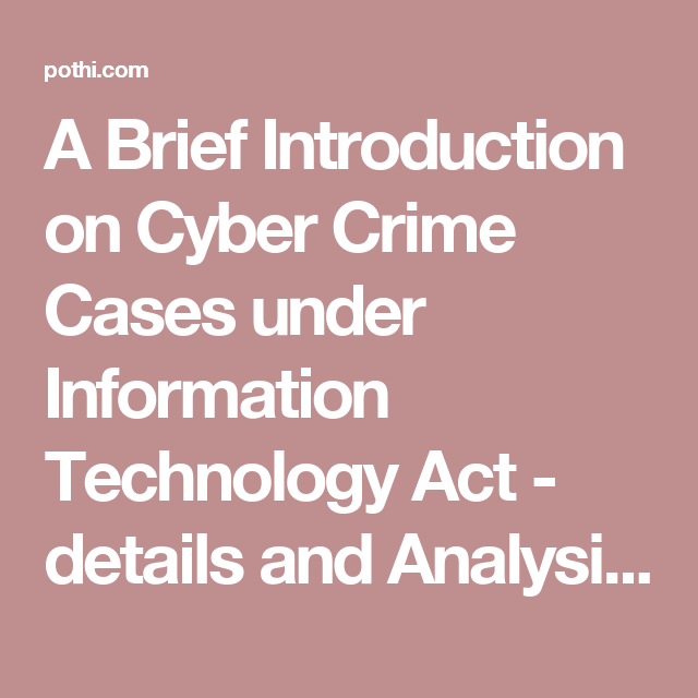 a brief introduction on cyber crime cases under information, Presentation templates