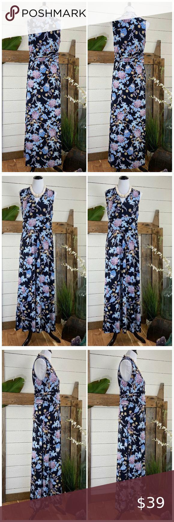 Maxi Dress By Vince Camuto Maxi Dress Floral Print Maxi Dress Dresses [ 1740 x 580 Pixel ]