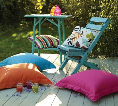 Garden Floor Cushions garden style Pinterest Gardens Floor