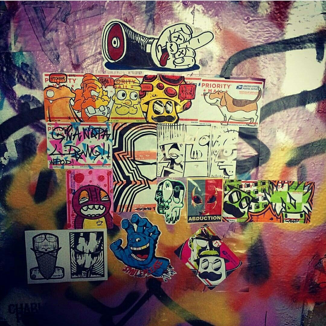 Stickerbomb street art graffiti stickers pinterest street stickerbomb street art graffiti street art graffitistickers amipublicfo Gallery