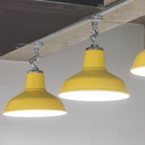 a number of our yellow industrial pendant lights make an extremely
