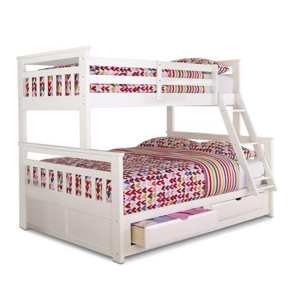 springsdale' twin-over-double storage bunk bed - sears | sears