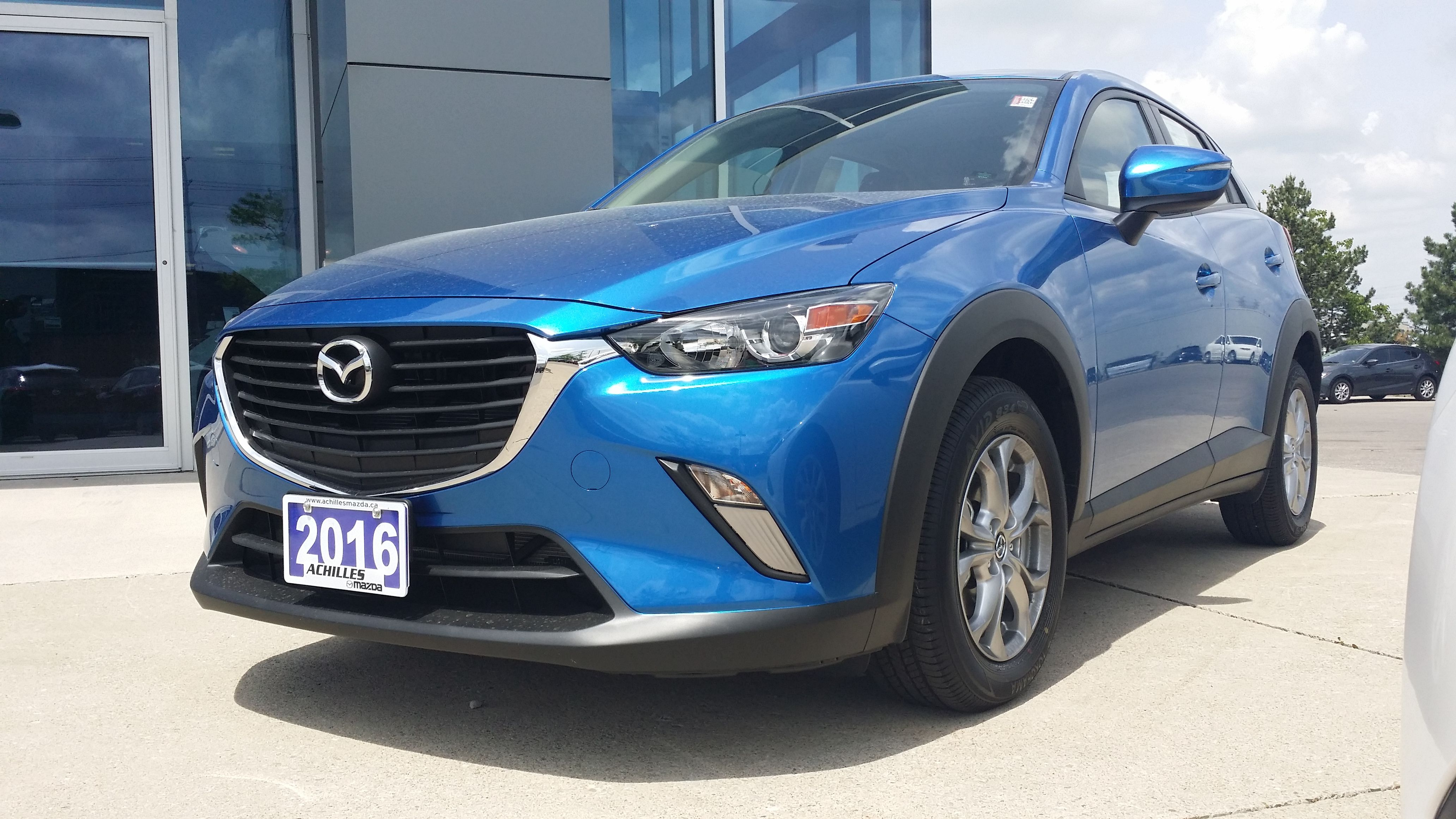 the new cx 3 in dynamic blue nice and bright for all you who