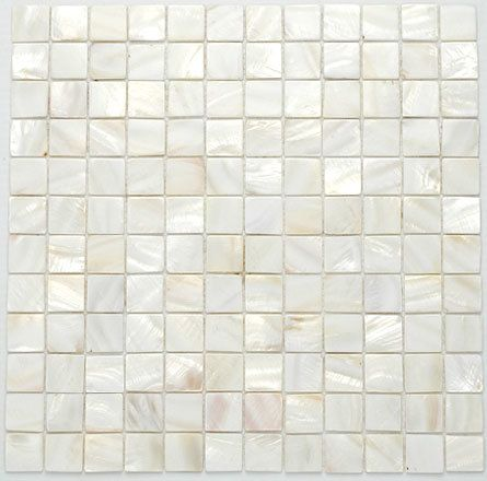 Shell Series White Shell 1 X 1 Frosted Glass Mosaic Free Shipping White Mosaic Tiles White Glass Mosaic Mosaic Glass