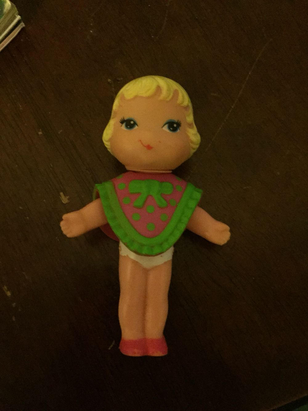 What were these called? 80's doll with snap on clothes.