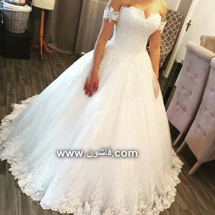 شاهدى فساتين زفاف رقيقة تحفة صور فساتين فساتين زفاف فساتين سواريه فساتين للمحجبات اتيليه اليك Wedding Dresses Bridal Gowns Designer Wedding Dresses
