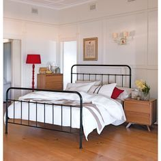 Wrought Iron Bed Frame. Perfect For The Guest Room.