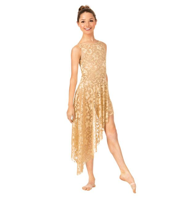 Adult Emballe Long Lace Overdress in 2019 | Dance Costume