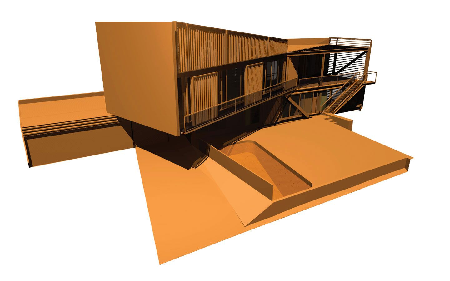 Picture Book Illustration Making An Architectural Model: David And Lisa Brill Residence / JONES,PARTNERS