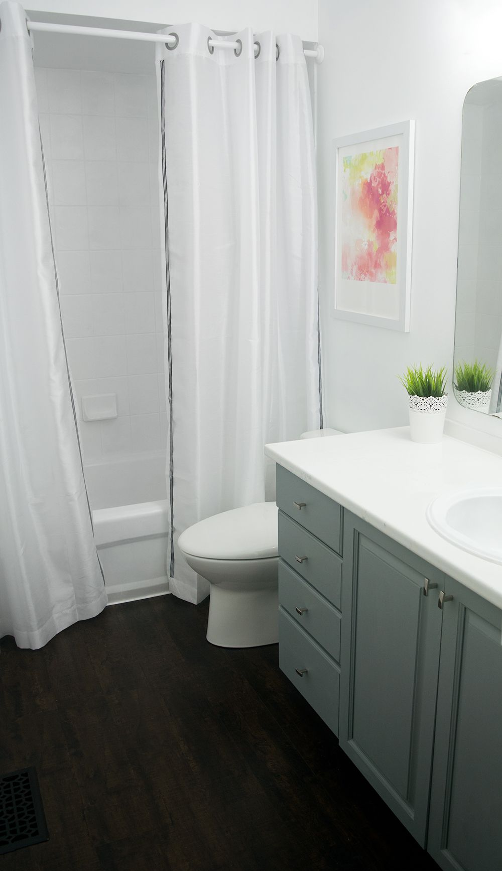 How To Paint Bathroom Cabinets | Painting bathroom ...