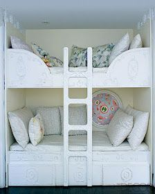 Superb French Country / Shabby Chic Bunk Beds, Perfect For A Teenaged Girl