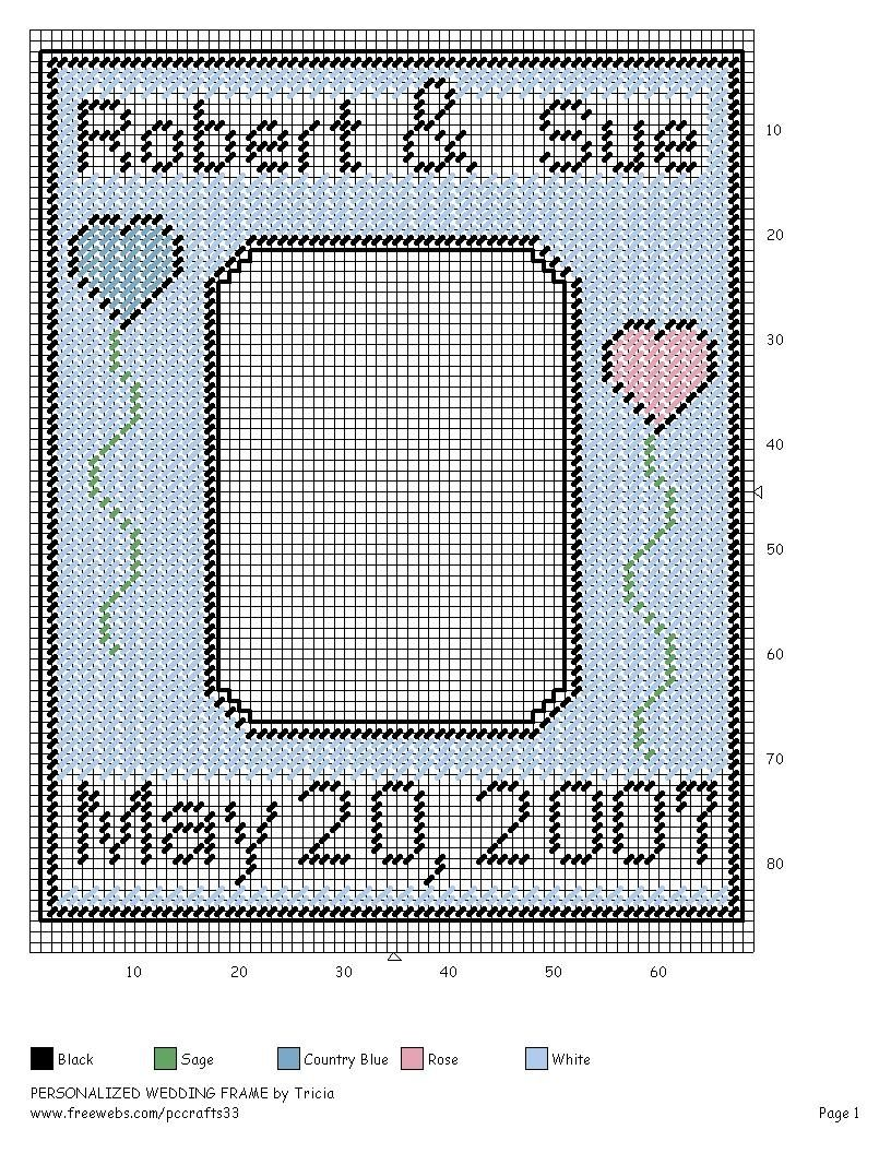 Personalized wedding frame plastic canvas pinterest plastic personalized wedding frame plastic jeuxipadfo Gallery