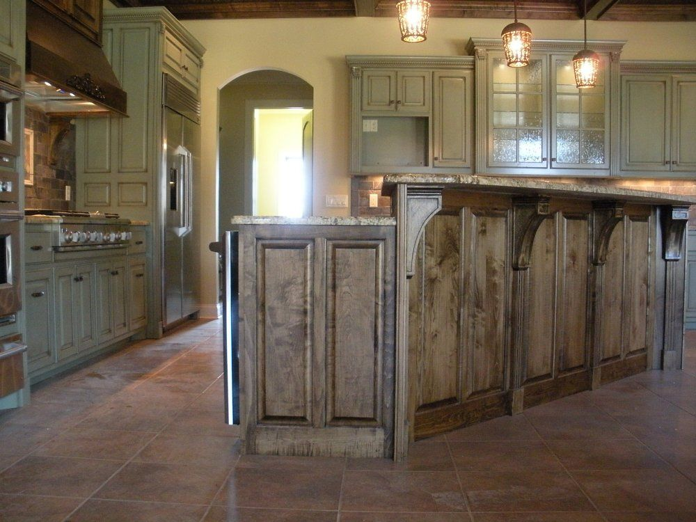 raised kitchen island rustic island with raised bar kitchen bar 14666
