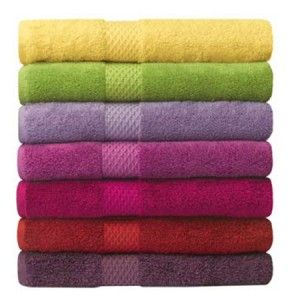 Cotton Towels In Vibrant Colours From 8 00 Perfect Gift For A 2nd Wedding Anniversary Bath Towels Luxury Pioneer Linens Towel Collection