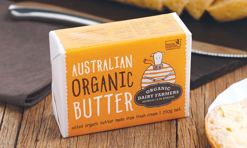Australian organic butter organic dairy australian