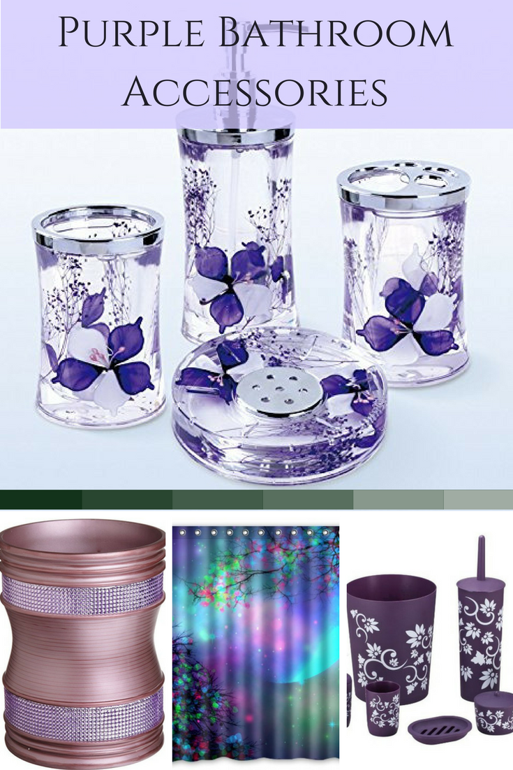 purple glass bathroom accessories. Purple Bathroom Accessories Bathroom Decor Is Fun  Unique And Pretty I Love All The Different Ways To Add Purple A