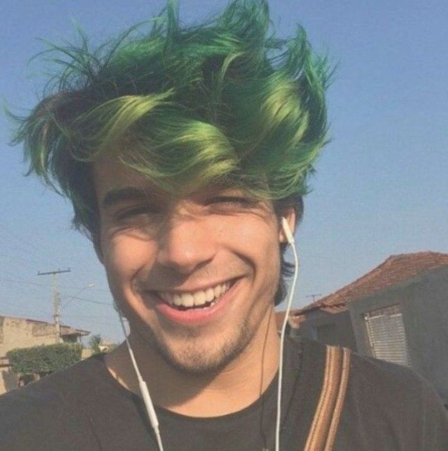 46 Awesome Green Hair Color Ideas For Stylish Men Vis Wed Green Hair Men Boys Colored Hair Mens Hair Colour
