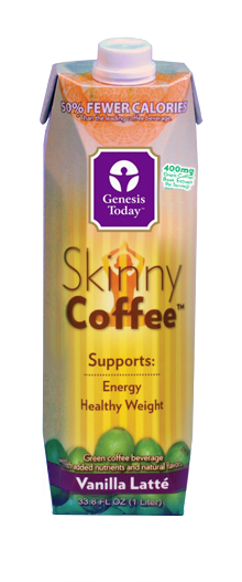Genesis Today's Skinny Coffee™ Vanilla Latté is a rich