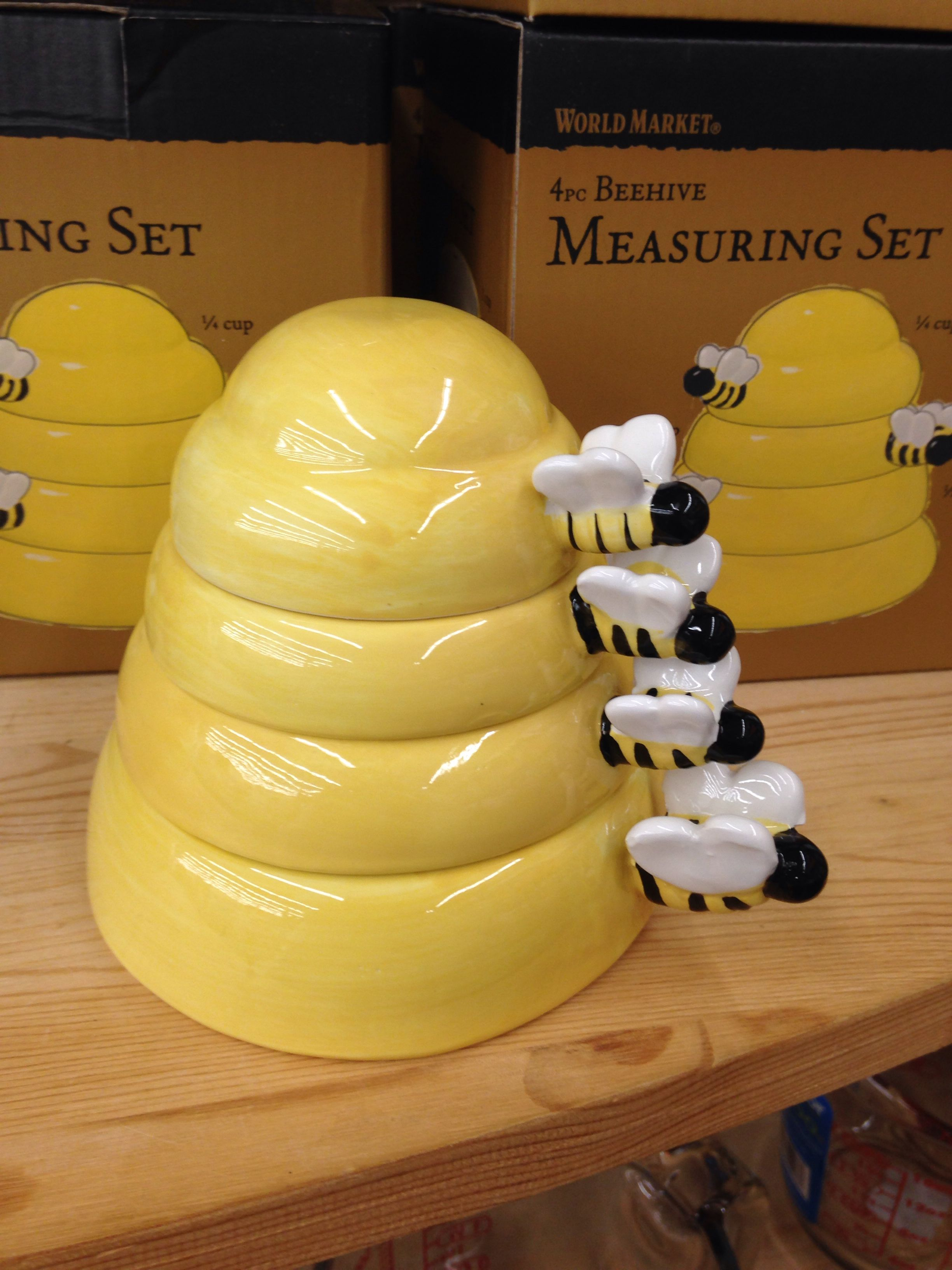 honey bee measuring cups(my birthday gift! sweet!) ps | bees