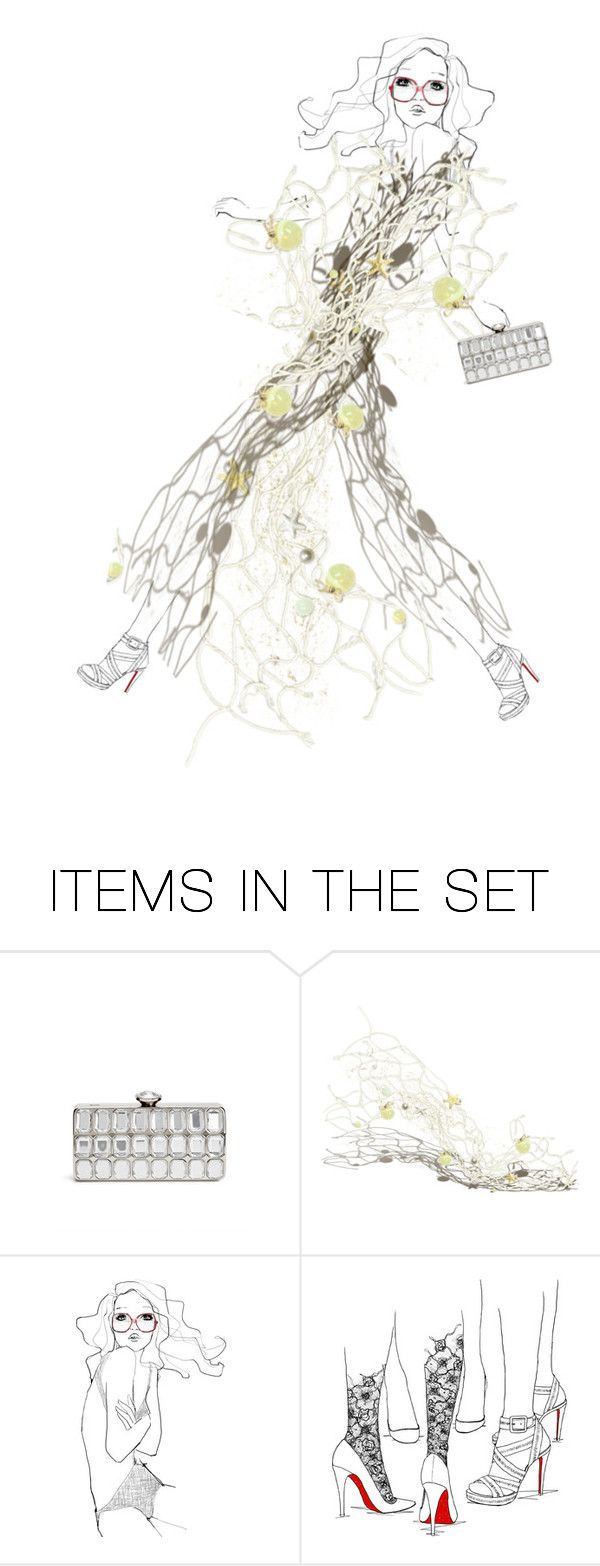 """Made of mesh decor...."" by sharonnnnnn ❤ liked on Polyvore featuring art"