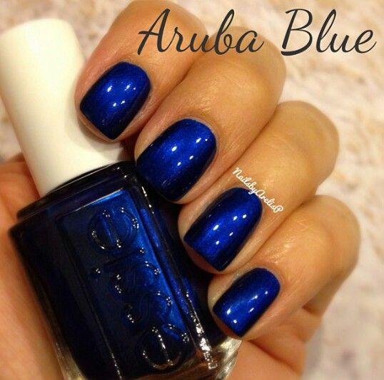 Blue Nail Polish The Block: Essie Nail Polish Aruba Blue