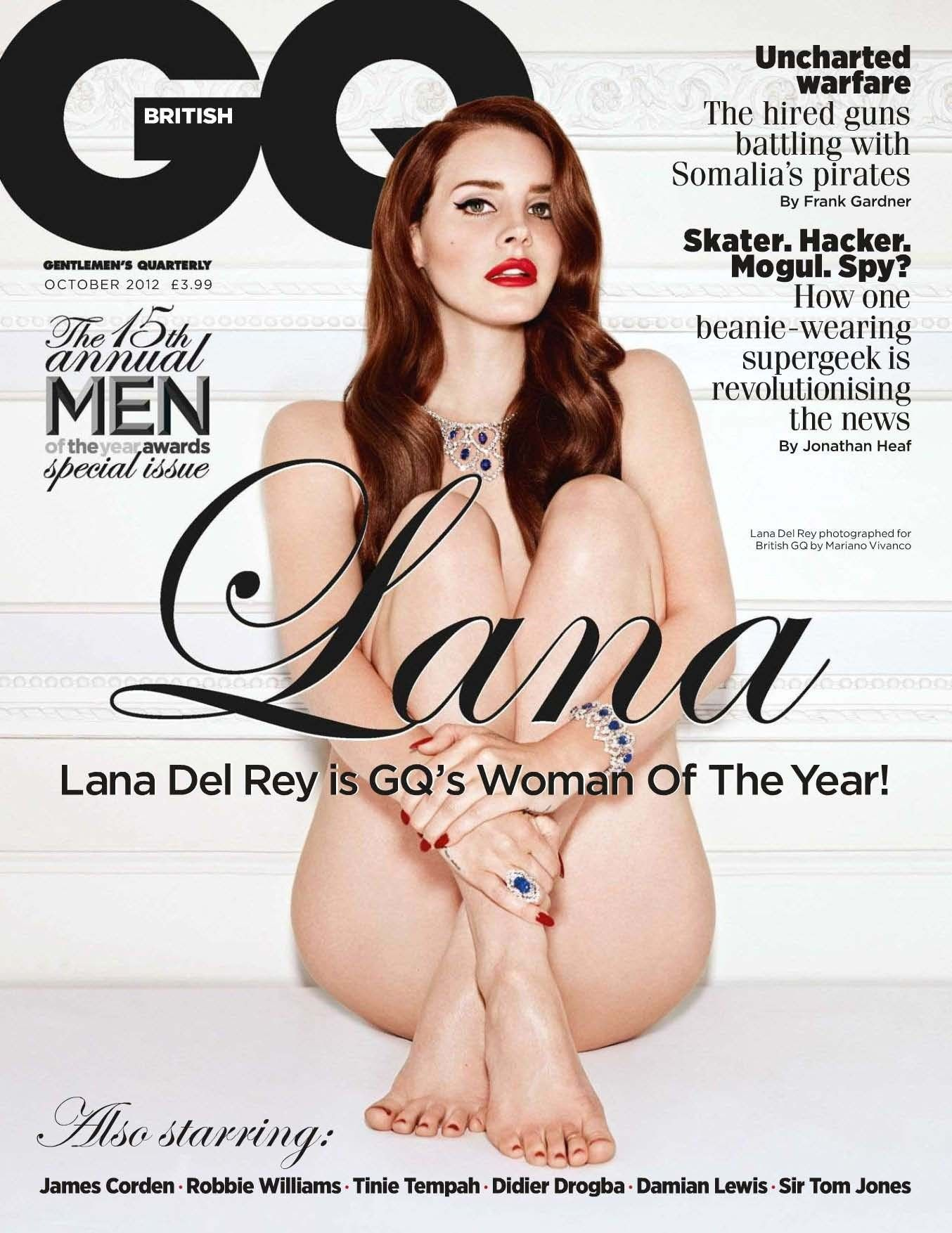 This magnificent Rihanna nude gq