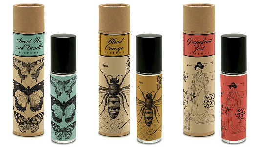 ecofriendly label packaging on lip balm love the
