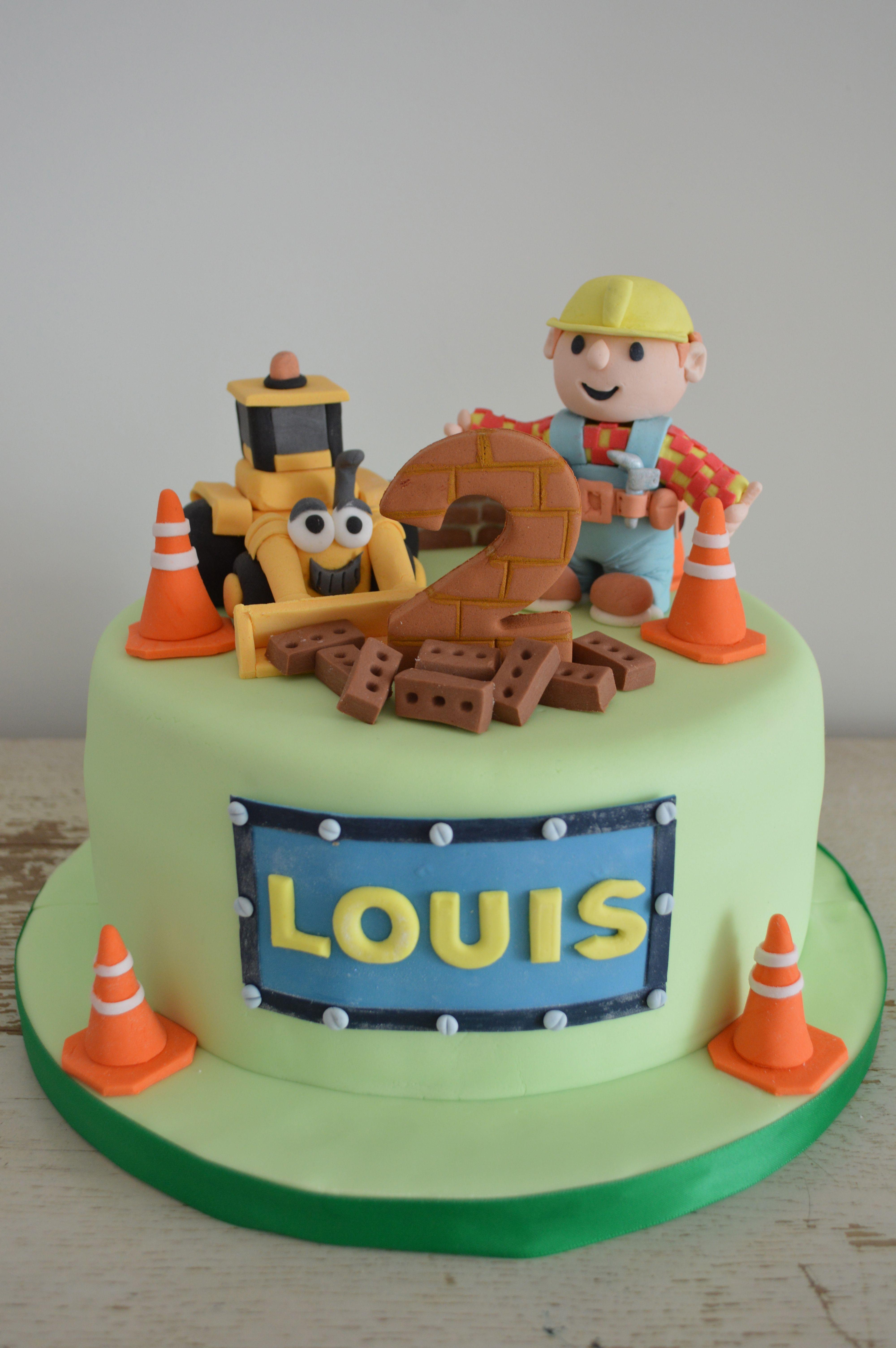 Bob the builder cake torte gateau anniversaire deco - Bobe le bricoleur ...