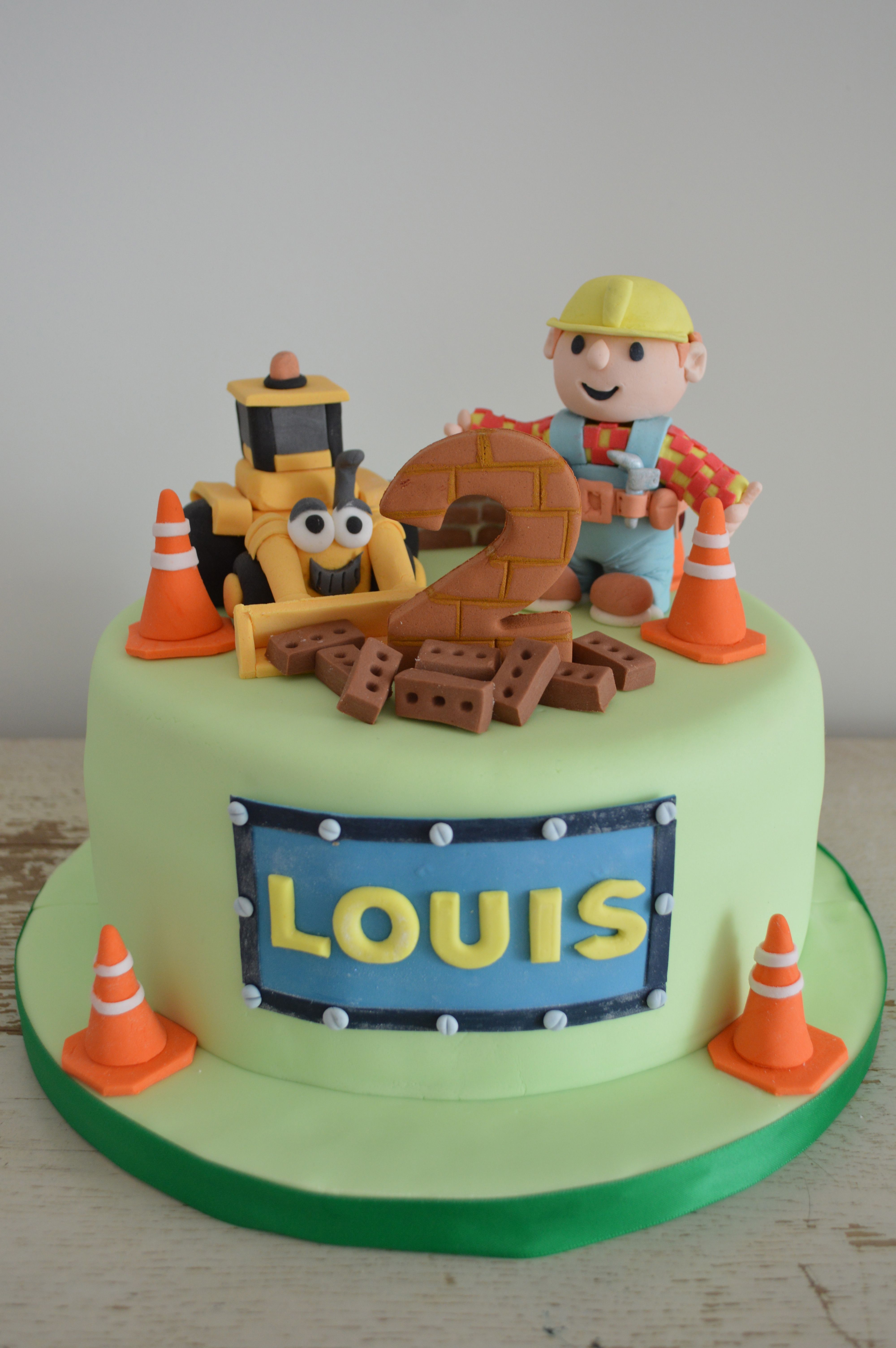 Bob the Builder Cake torte Pinterest Bobs Cake and Birthdays