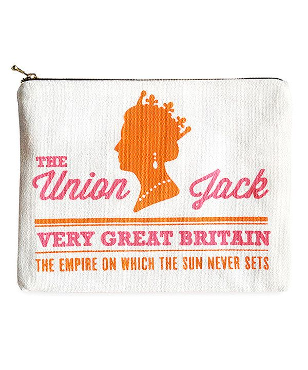 Look at this 'The Union Jack' Amenity Bag on #zulily today!