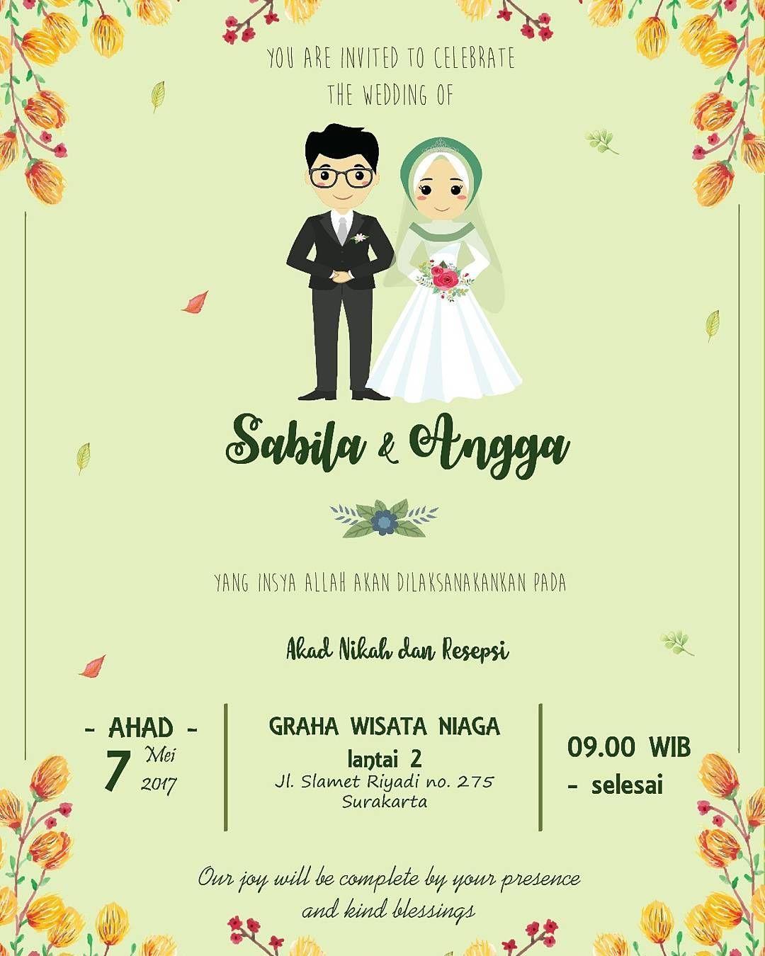 Pernikahan Islami Kartun : pernikahan, islami, kartun, Kartun, Nikah, Kartun,, Pernikahan,, Gambar, Pengantin