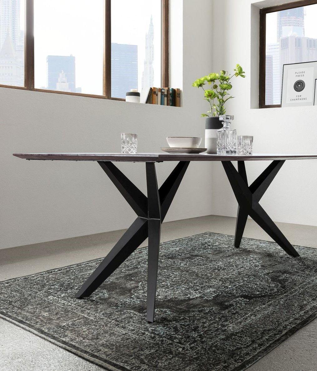Möbel Baumkante versandfrei kaufen Esstisch modern