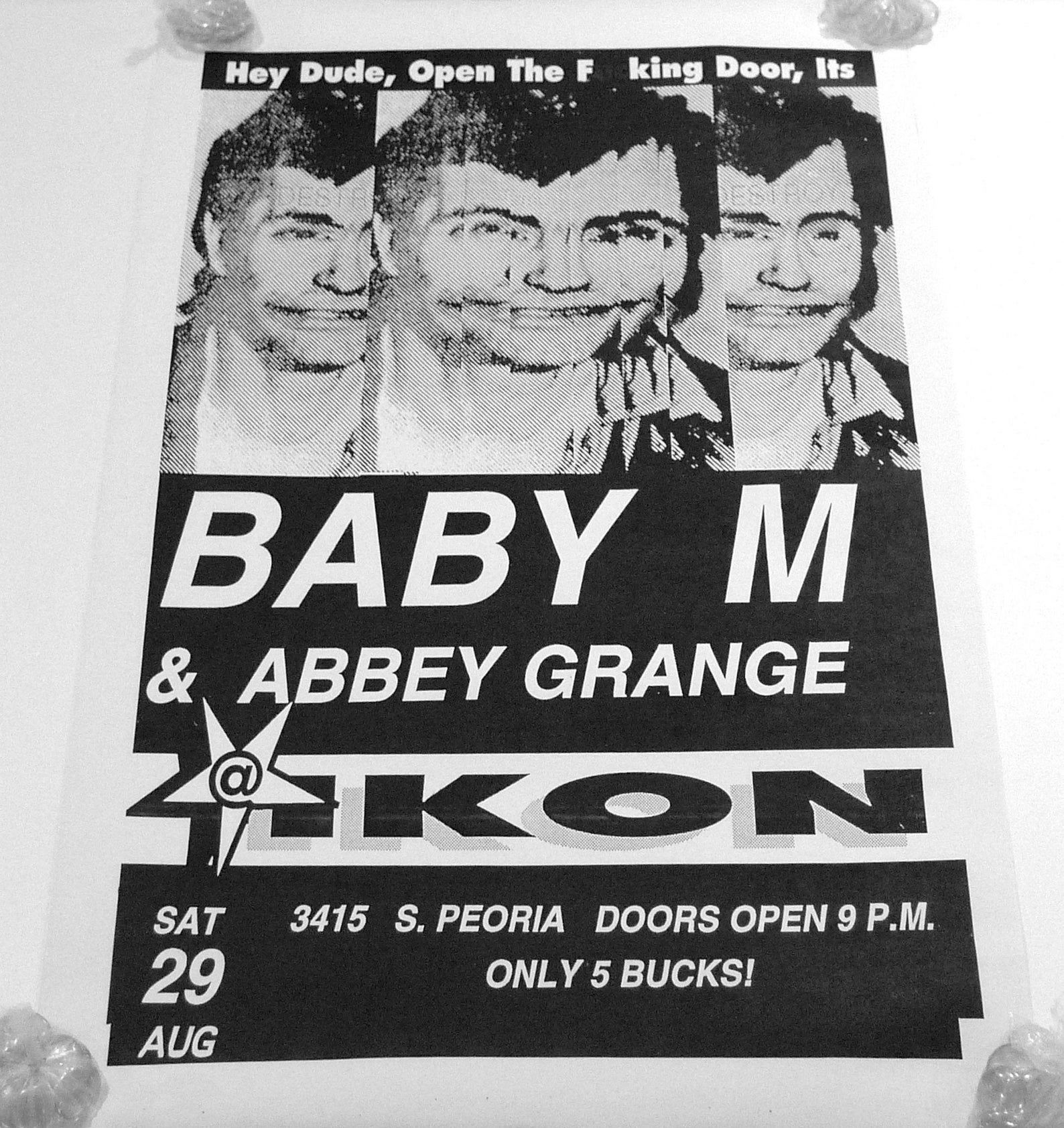 Concert Music 90s Poster