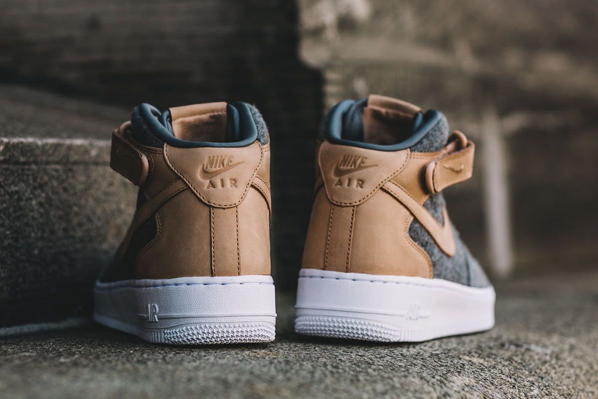 competitive price 90cad 80d60 Nike WMNS Air Force 1 07 Mid Leather Premium