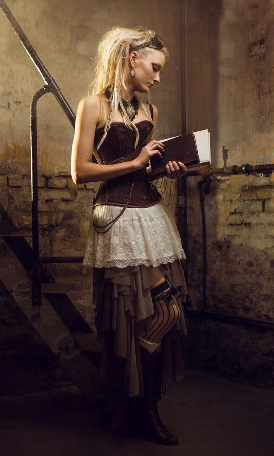 Steampunk Girl by Ditte R. Stark on 500px