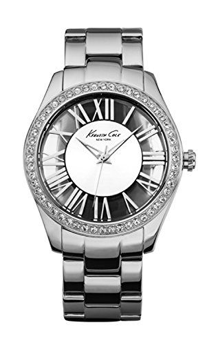Women  Watches - Kenneth Cole New York Womens KC4851 Transparency CrystalAccented Stainless Steel Watch ** Want to know more, click on the image. (This is an Amazon affiliate link)