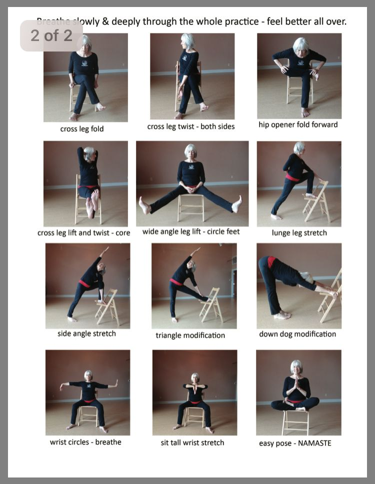 21++ Gentle chair yoga routine trends