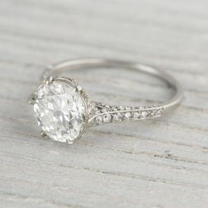 Vintage Engagement Rings Erstwhile Jewelry Nyc