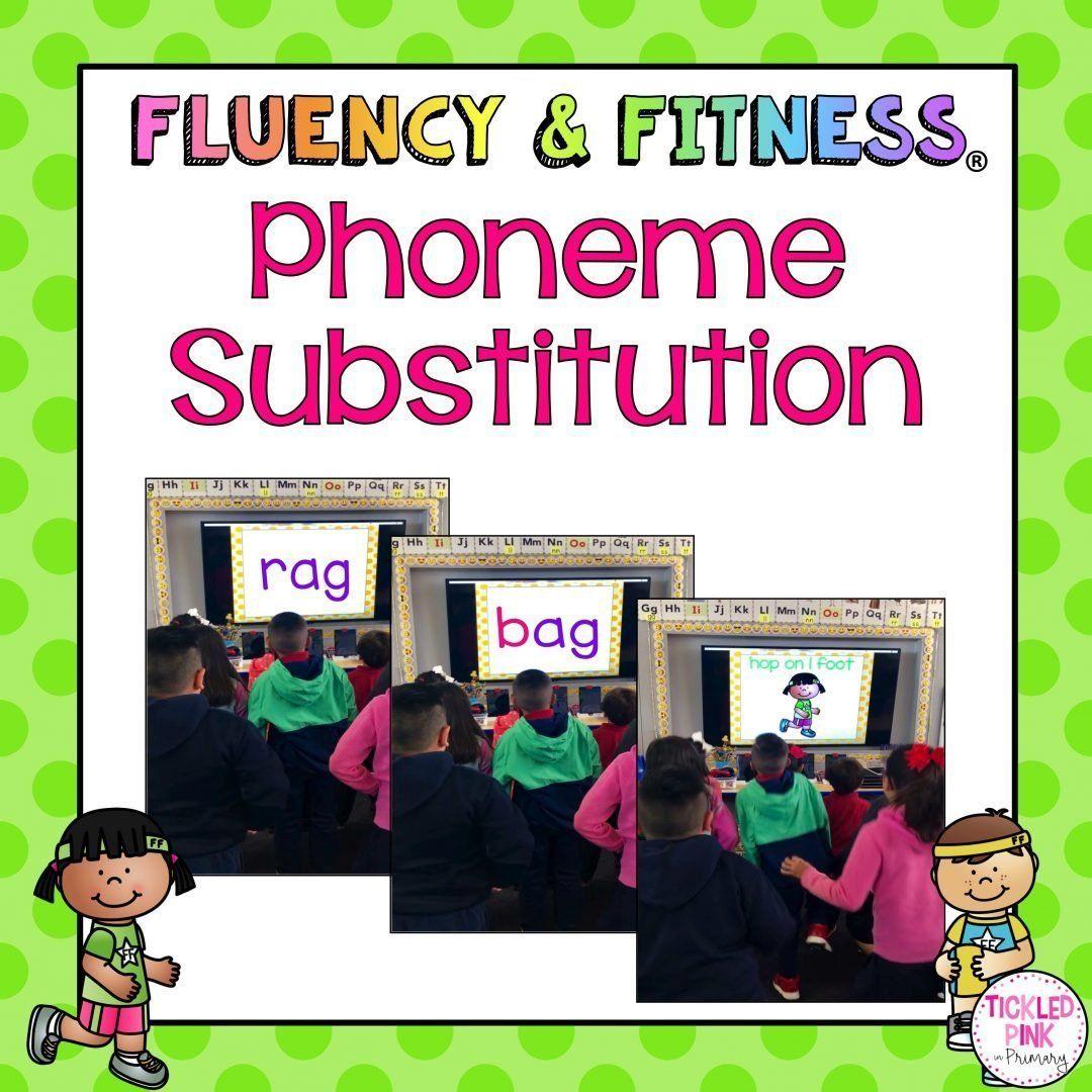 Phoneme Substitution Fluency Amp Fitness Brain Breaks
