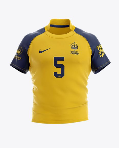 Download Free Psd Mockup Men S Rugby Jersey Mockup Front View Object Mockups Shirt Mockup Clothing Mockup Design Mockup Free