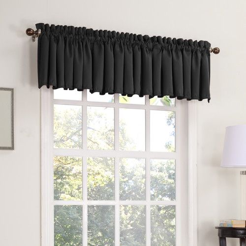 Found It At Wayfair Groton Thermal Single 54 Curtain Valance Curtains