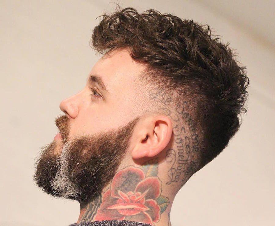 Cortes de pelo ondulado hombre 2016