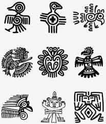 Images 207 243 Simbolos Astecas Tatuagem De Totem Desenho Rupestre