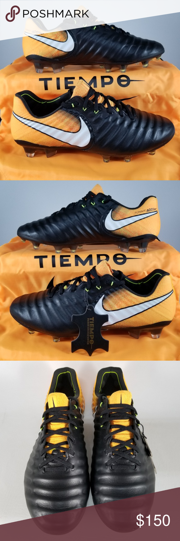 8f2adb86e5d Nike Tiempo Legend VII FG Soccer Cleat SZ 7 Orange Nike Tiempo Legend VII FG  Soccer