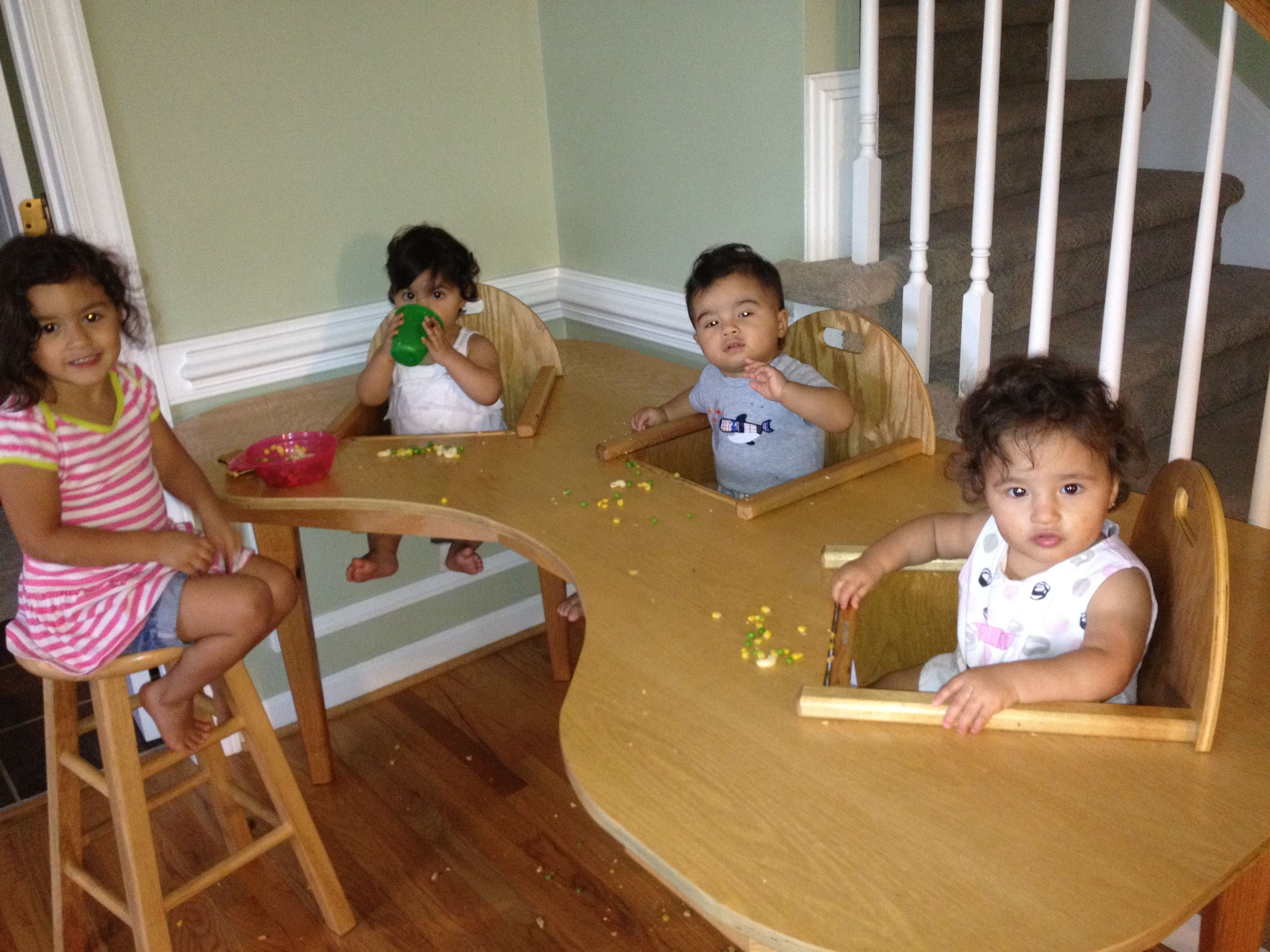 Triplet Table! My Dream come true!!! Our Angels