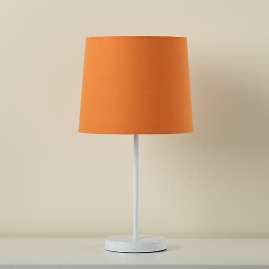Kids Lighting Kids Table Lamp Base With Fabric Shade In
