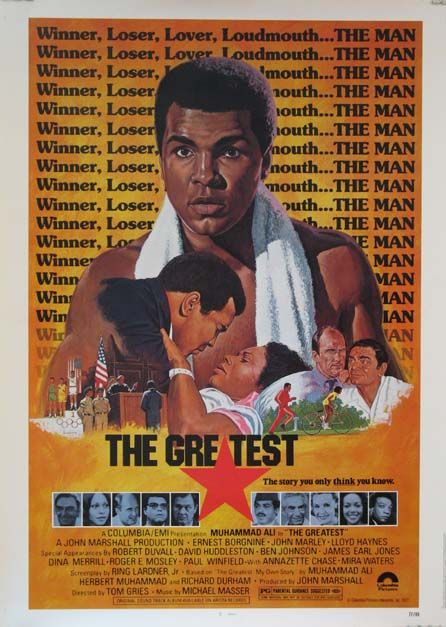 The Greatest (1977) USA Columbia. Mohammed Ali, Ernest Borgnine. 02/06/03